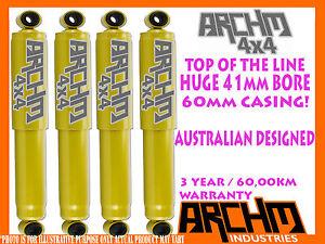 HOLDEN JACKAROO 1986-1992 F & R 41mm BORE FOAM CELL ARCHM4x4 SHOCK ABSORBER