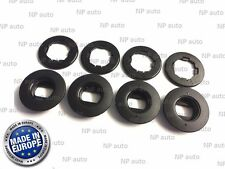 NEW GENUINE OEM OVAL TOYOTA LEXUS CAR MAT CLIPS FLOOR HOLDERS FIXING CLAMPS 4PCS