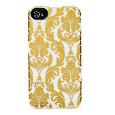 Agent18 P4SSS/50 SlimShield Limited Case for iPhone 4/4S (Gold/White)