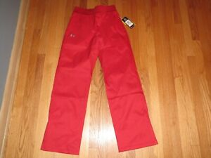 Under Armour Women's SMALL Snow Pants Ski SnowBoard NWT Red MSRP $130 **NEW**