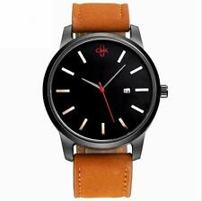 Fashion Men's Leather CMK Quartz Wrist Watches Sport Wrist calendar MVMT Style