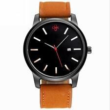 Fashion Men's Leather CMK Quartz Wrist Watches Sport Wrist calendar MVMT Style