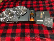 Metallica Blackened American Whiskey Batch 100 Box Set & empty bottle Dbl record