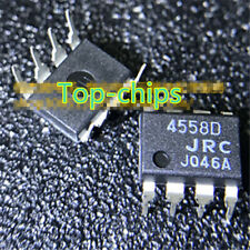 100 PCS NJM4558D DIP-8 NJM4558 JRC4558 4558D AMPLIFIER
