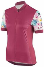 2019 Louis Garneau Women's Art Factory Cycling Jersey - medium - Shiraz / Pink