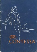 Zeiss Ikon Contessa Instruction Manual 1952