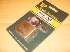 "Yale P68 1 1/2"" Brass Padlock (Travis Perkins) - As Photo"