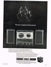 1964 Sony Superscope Sterecorder 500 Hi-Fi Tape Recorder Vtg Print Ad