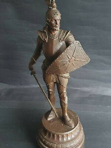 Antike Metall Figur  LOHENGRIN  Frankreich um ca.1900  Höhe 40cm