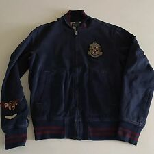Polo Bear Ralph Lauren Baseball Jacket Small Vintage P Wing Snow Beach