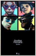 GORILLAZ Humanz 2017 Ltd Ed Super RARE Brand New Poster Display! Electronica R&B