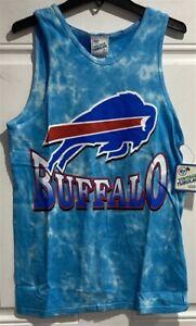 Buffalo Bills NFL '47 Brand Aqua Tie Dye Vintage Tubular Men's Tank Top Shirt