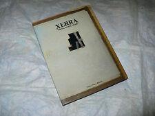 ARTE XERRA ELLERA ERRARE STRALE GILLO DORFLES NUOVA PREARO EDIT. 1985 MONOGRAFIA