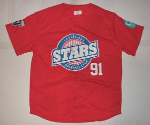 LAS VEGAS STARS 51s #91 Dodgers Padres Minor League MiLB Baseball Jersey Mens XL