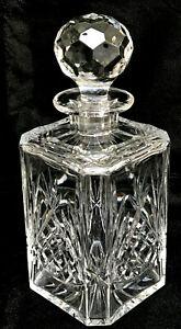 Vintage Edinburgh Crystal Square Spirit / Whisky Decanter