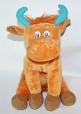 Dr. Seuss Mr. Brown Cow Bull Star Plush Animal Kohl's Cares 11 inches Lovey