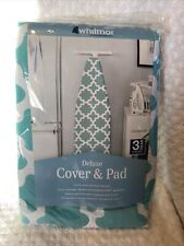 Whitmor Deluxe Replacement Ironing Board Cover & Pad Concord Turquoise New 3 yr