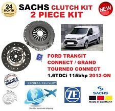Per FORD TRANSIT CONNECT 1.6 TDCi 115bhp 6 velocità 2013 - > Sachs 2 Pezzi Kit Frizione
