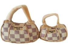 Checker Chewy Vuiton Bag Toy - Large