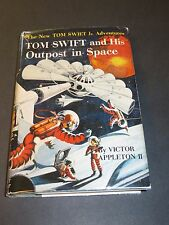 TOM SWIFT JR.  #6: HIS OUTPOST IN SPACE by Victor Appleton 1959 Printing