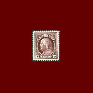 USStamp Regular Issues Mint OG & H, XF S#417 Jumbo Margins, very fresh color