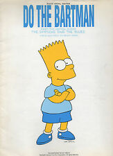 Do the Bartman sheet music from THE SIMPSONS 1990 9 pages (VG shape)