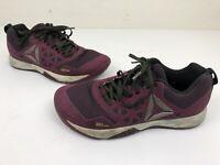 Reebok Crossfit Women's Nano 6.0 Cross Training Shoes Size 7 Purple Kevlar