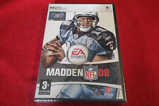 Madden NFL 08 Apple Mac/DVD FOOTBALL AMERICANO (Sigillato Nuovo di Zecca &)