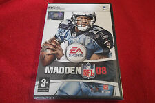 MADDEN NFL 08 APPLE MAC/DVD AMERICAN FOOTBALL ( brand new & sealed )