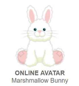 Webkinz Classic Marshmallow Bunny ~retired~ *Code Only*