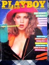Vintage Playboy November 1985 Teri Weigel women of Mensa Sting  NEAR MINT