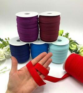 20mm lingerie elastic soft stretchy fold over elastic blue red burgundy plush