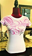 💜💗 Nwot Old Stock Split Surfer Dreams Beach Summer Wild Art T Shirt Xs 💜�