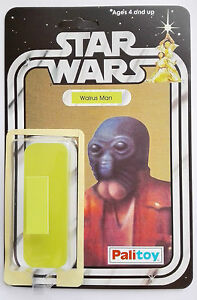1979 PALITOY WALRUS MAN  20 BACK RESTORE KIT SELF ADHESIVE HOME YOUR TOY CANTINA