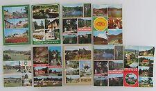 9 Mehrbildkarten Lot Tschechien Tschechoslowakei ungebraucht ab/nach ca. 1970