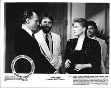 Lot of 3a, John RITTER, Blake Edwards, mint stills SKIN DEEP (1989) Nina Foch, A