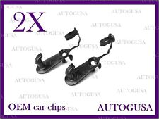 NEW OEM TOYOTA LEXUS BLACK CAR FLOOR MAT CLIPS FIXING HOOKS CARPET CLIPS 2PCS