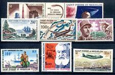 ST Pierre Miq 1963 pa30, 31 etc ** ca € 200 (j2866