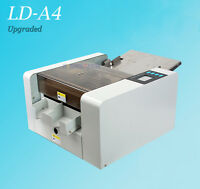 Automatic A4 Business Card Cutter Photo Flyer Cutting Machine With Touch Screen