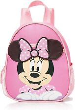 Disney Baby Minnie Mouse Backpack Safety Harness Straps Toddlers Girls Bag Pink