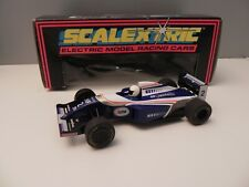 "SCALEXTRIC  OLD SLOT ""WILLIAM RENAULT FW15C"" C227 1.32  MADE IN ENGLAND BOX"