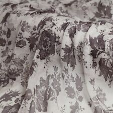 1yard*135cm vintage crinkled silk chiffon fabric gauze material for dress skirt