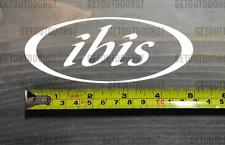 "5"" Ibis Cycles Sticker Decal Bike Road Mountain MTB CYCLE CRUISER BMX XO"