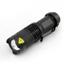 260Lumen 3W CREE LED Rechargeable Flashlight Torch Outdoor Sport Saftey Lighting