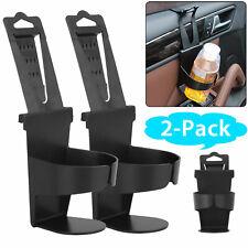 2x Universal Vehicle Car Truck Cup Holder Case Drink Bottle Door Mount Standing