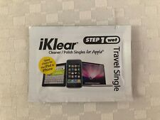 iKlear Travel Singles - Cleaning Wipes For All Apple Products