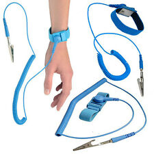 Anti Static Wrist Band Strap Bracelet Grounding Electricity ESD Discharge