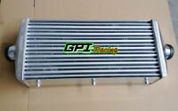 600x290x110mm Universal Aluminum Turbo Intercooler 3'' in/outlet 76mm Delta&Fin