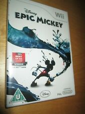 ** Epic Mickey Disney **  NEW and SEALED NINTENDO Wii / Wii U COMPLETE PAL UK E3