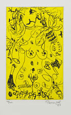 John PERCEVAL 'Nude & Bee' ORIGINAL ETCHING, hand signed by artist, limited ed